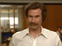 really, ron burgundy, will ferrell, Ron Burgundy Really? GIFs