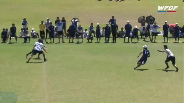 Watch WFDF World Under 24 Ultimate Championship: Mixed Final - Japan vs USA GIF on Gfycat. Discover more Sports, World Flying Disc Federation GIFs on Gfycat