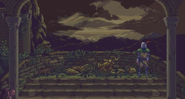 Watch and share Dark Souls - Pixel Art GIFs by killersoda on Gfycat