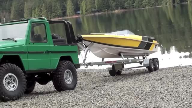 Watch and share Mercedes 300 G GIFs and Rc Boat Launch GIFs on Gfycat