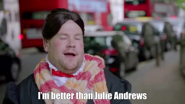 Watch and share James Cordon As Mary Poppins GIFs by Reactions on Gfycat