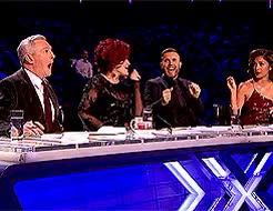 Watch Gary Barlow GIF on Gfycat. Discover more Gary Barlow, I love these two so much, LOLOL, Nicole Scherzinger, Sharon Osbourne, X Factor, giant man-child you, notes GIFs on Gfycat