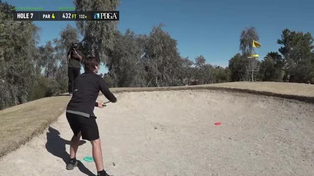 Watch 2019 LVC Round 4 Kevin Jones hole 7 putt GIF by Benn Wineka UWDG (@bennwineka) on Gfycat. Discover more dgpt, dgwt, disc, disc golf, mcbeast, nate sexton, paul mcbeth, pdga, simon lizotte, tournament GIFs on Gfycat