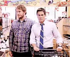Watch this chris pratt GIF on Gfycat. Discover more chris pratt, chris traeger, rob lowe GIFs on Gfycat