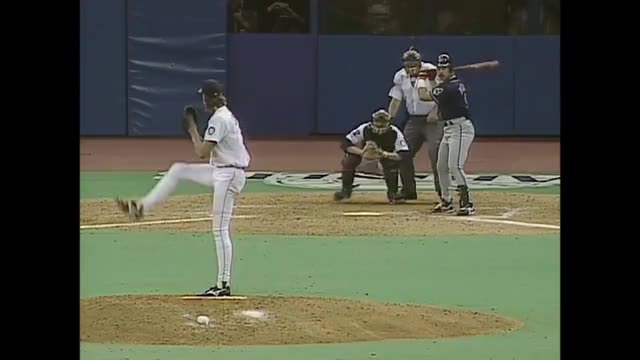 Watch and share 1995 ALCS Gm6: Baerga's Homer Pads Indians Lead GIFs on Gfycat