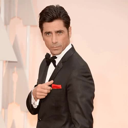 Watch and share Oscars Red Carpet GIFs and John Stamos GIFs on Gfycat