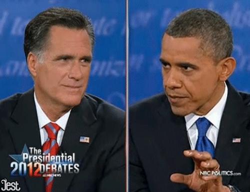 mitt romney, Debate GIFs