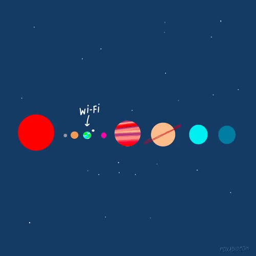 Watch and share Wifi On Solar System GIFs on Gfycat