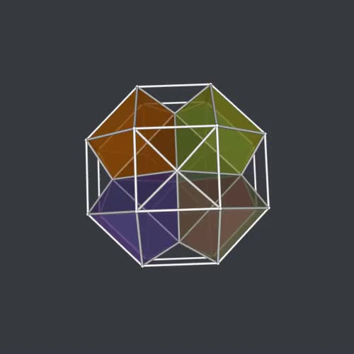 Watch and share Polychoron GIFs and Geometry GIFs by Stéphane Lambert on Gfycat
