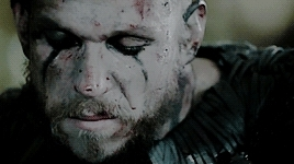 alexander ludwig, athelstan, bjiorn, floki, george blagden, gustaf skarsgard, katherynwinnick, lagertha, ragnar, travis fimmel, vikings, kill the boy. GIFs