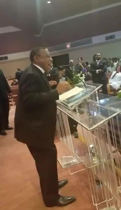 Watch Pastor C. L. Cooper ending his Eulogy of Sis. Shirley Thompson's Homegoing GIF on Gfycat. Discover more Preaching, eulogy, gospel GIFs on Gfycat
