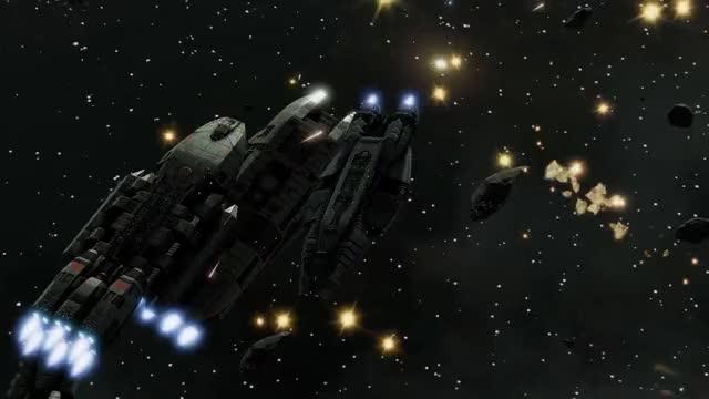 Watch and share Battlestar Galactica Deadlock - Autocam Battle Footage - MP Vs IndirectlyLemon GIFs on Gfycat