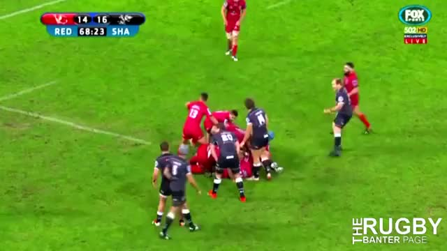 Watch Rugby Union player's awful clearance kick [Alternate view in comments] (reddit) GIF on Gfycat. Discover more instant_regret GIFs on Gfycat