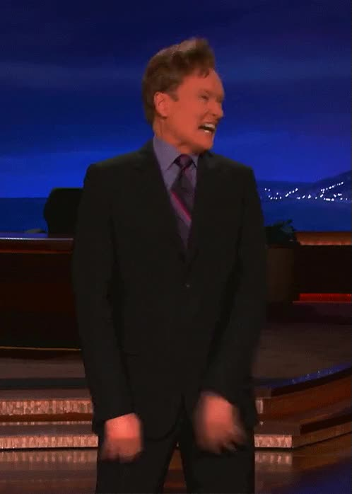 Watch and share Conan O Brien GIFs on Gfycat