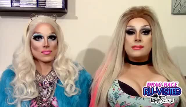 Watch and share Drag Race RU-VISITED With Novympia: S9, Ep 6 GIFs on Gfycat