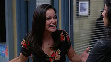 Watch and share Melissa Fumero GIFs and Excited GIFs on Gfycat
