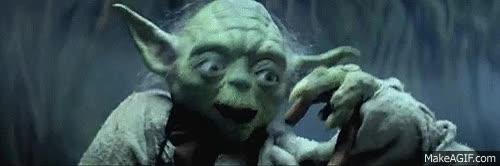 Watch and share Yoda Luke GIFs on Gfycat