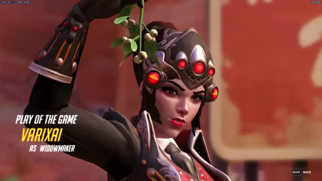 Watch and share Overwatch GIFs by varixai on Gfycat