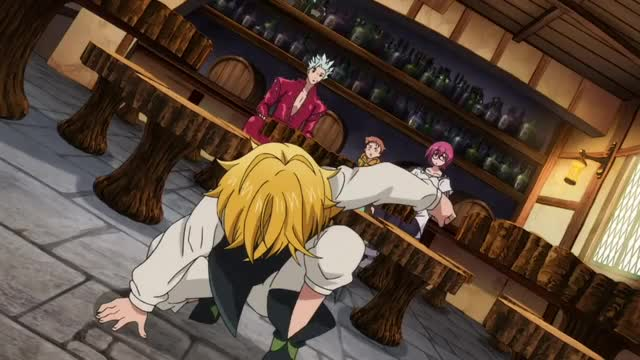 Watch Meliodas pissed! The sins charge Britannia-English dub GIF on Gfycat. Discover more Elizabeth, English dub, Meliodas, People & Blogs, Seven deadly sins, angry, ban, gowther, pissed GIFs on Gfycat