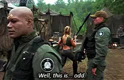 Watch and share Daniel Jackson GIFs and Michael Shanks GIFs on Gfycat