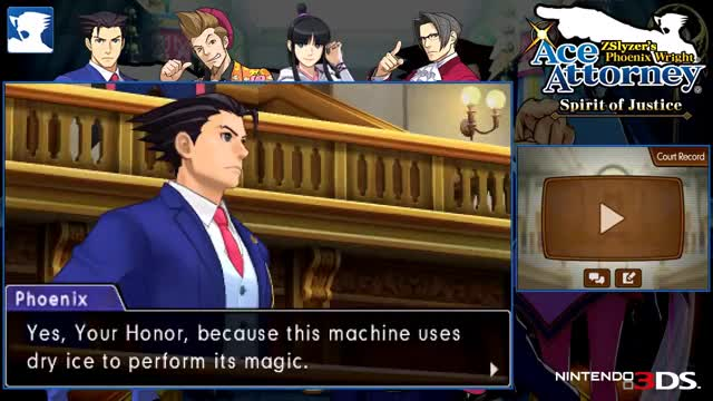 Watch Phoenix Wright: Spirit of Justice #93 ~ Turnabout Time Traveler - Trial, Day 1 (2/3) GIF on Gfycat. Discover more 3ds, All Tags, Ema, Skye, athena, butz, edgeworth, ellen, justice, maya, nichody, nintendo, pierce, playthrough, selena, sorin, sprocket, trucy, walkthrough, wyatt GIFs on Gfycat