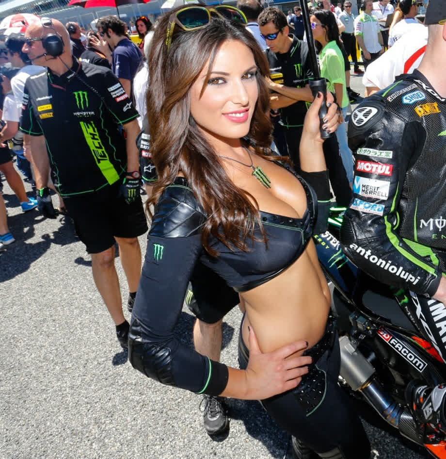 Hot monster racing girls naked — pic 8