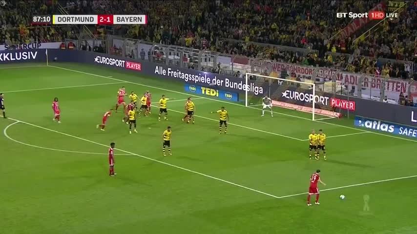 Highlight- Dortmund  Bayern Munich: Loạt đấu súng nghẹt thở