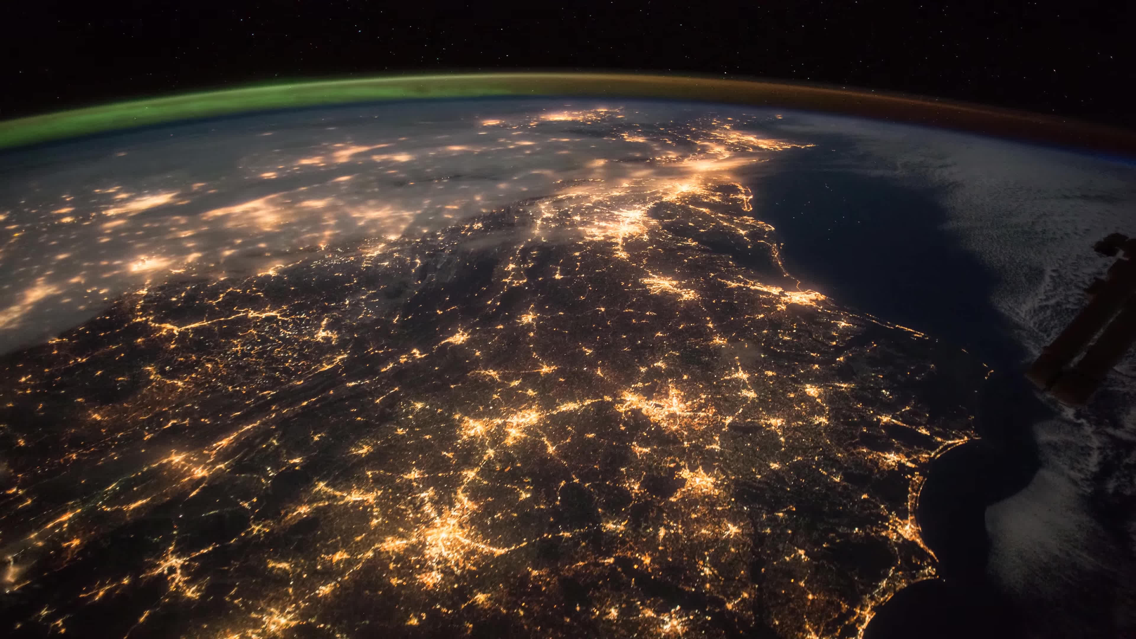 iss, nasa, newjersey, The OVERVIEW EFFECT -- in UHD-4k GIFs