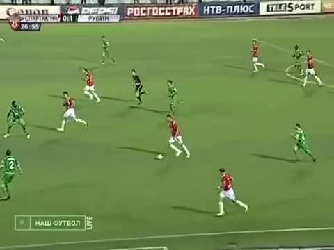 Watch and share Гол С 70-и Метров! Спартак-Нальчик - Рубин. 1-1, Йованович GIFs on Gfycat