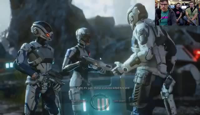 Watch Mass Effect: Andromeda LIVE! GIF on Gfycat. Discover more related GIFs on Gfycat
