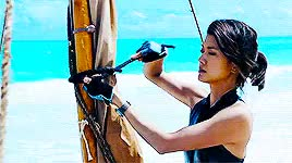 Watch and share Grace Park GIFs on Gfycat