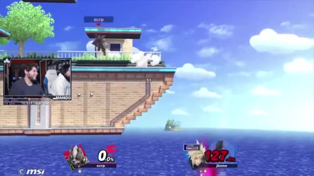 Lucky Can't Get Past Mang0's Wolf