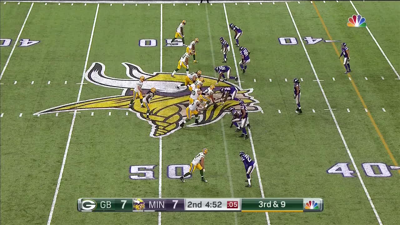 greenbaypackers, Cobb over the middle GIFs