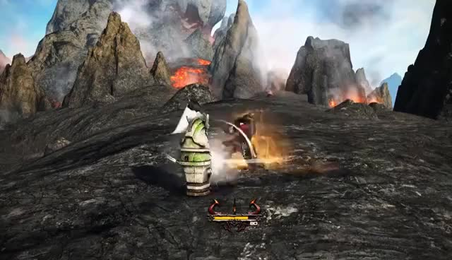 Watch and share FFXIV Stormblood: Warrior 4.0 Ability Preview - SO MANY FELL CLEAVES GIFs on Gfycat