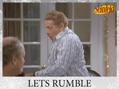 festivus, happy festivus, holiday, seinfeld, Let's Rumble Festivus GIFs