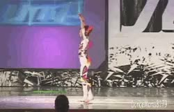 Watch Abby Lee Dance Company GIF on Gfycat. Discover more 2010, acro, aldc, brooke hyland, contortion, dance moms, gifs, jump dance, juniors, my gifs, solos GIFs on Gfycat