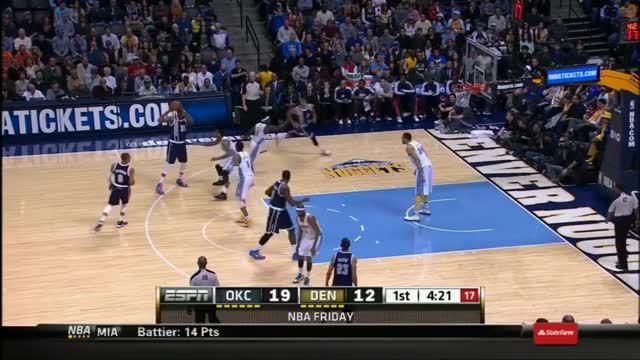 Watch and share Y2mate.com - Durant Does The 'Dr. J' Reverse Layup In Denver! A-2L7SR-1Ng 720p GIFs by warpable on Gfycat