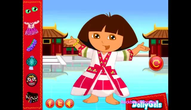 Watch and share Dora The Explorer Dress Up Games Free Play GIFs on Gfycat