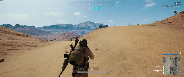 Chinese Hacker PUBG lock-on auto-fire + Recoil Macro SKS  GIF by
