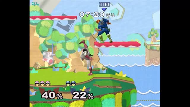 Watch and share Captain Falcon GIFs and Ledge Cancel GIFs by TankTheNoobs on Gfycat