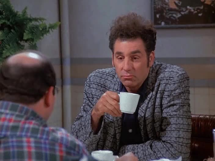 disappointed, michael richards, Kramer that's a shame (Seinfeld) GIFs