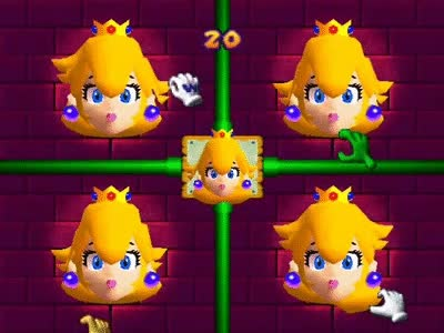 Watch and share Mario Party 2 Netplay Minigame: Face Lift GIFs on Gfycat