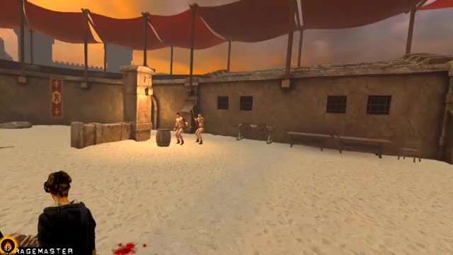 Watch Close-quarter Archery Gameplay in VR! - BLADE & SORCERY #6 [HTC VIVE] GIF by @virtualragemaster on Gfycat. Discover more RageMaster, Robin Hood VR, VR archery, best vr archery game, close combat archery, good player vr, high skill vr, robin hood action scene, robin hood archery, virtual reality action GIFs on Gfycat