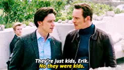 Watch and share Michael Fassbender GIFs and Charles Xavier GIFs on Gfycat