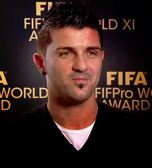 Watch and share David Villa GIFs on Gfycat