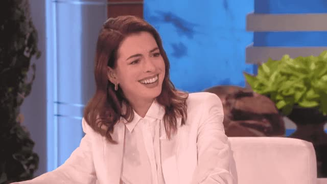 Watch and share Anne Hathaway GIFs by Reactions on Gfycat
