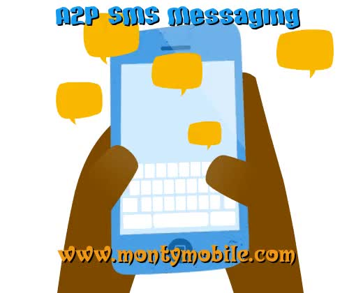 Watch and share Sms Spam Detection GIFs and A2p Messaging GIFs by Monty Mobile on Gfycat