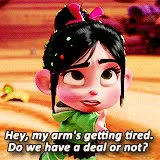 Watch and share Vanellope Von Schweetz GIFs on Gfycat