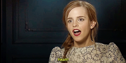 celebs, emma watson, Emma Watson agrees GIFs