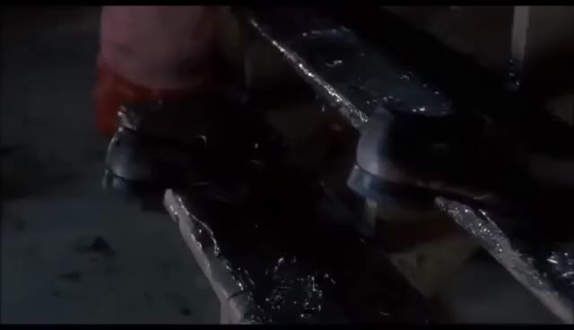 Watch and share Home Alone Marv Steps On A Nail GIFs on Gfycat